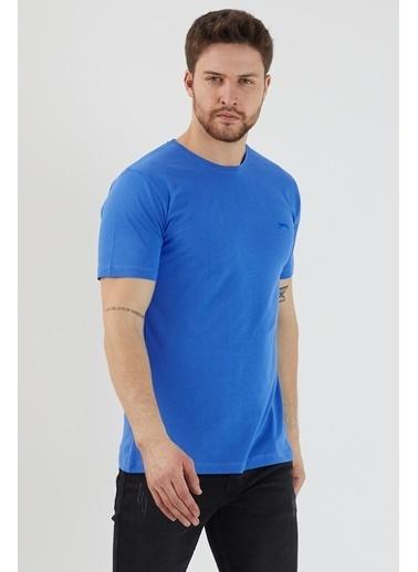 Slazenger Slazenger SANDER Erkek T-Shirt  Mavi
